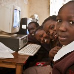 Class 7 Students during a Computer Class session at Kumpa Holy Mother Primary School in Kajiado.