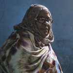 Portrait of Haalimo Mohamed Maaclin at Somali Orphans & Disable Homeless & Children Center in Taleeh Mogadishu. She started the home after seeing the hardships that the children endured on he streets of Mogadishu.